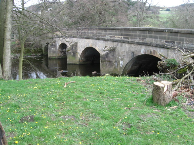 Leadmill Bridge over the River Derwent