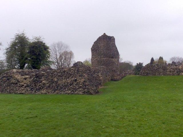 Palace remains, Berkhamsted