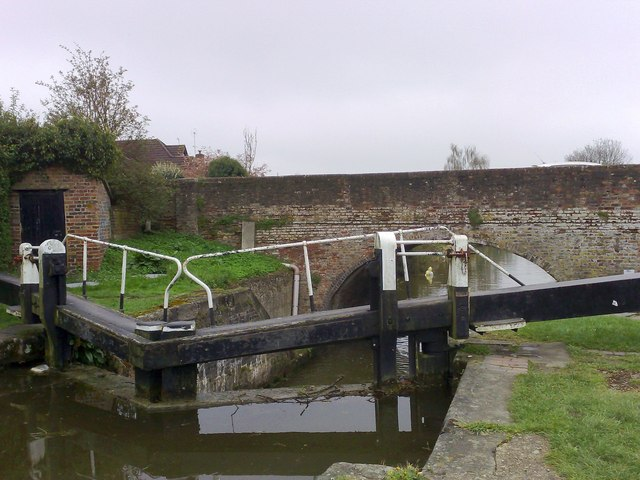 Lock gates, Northchurch