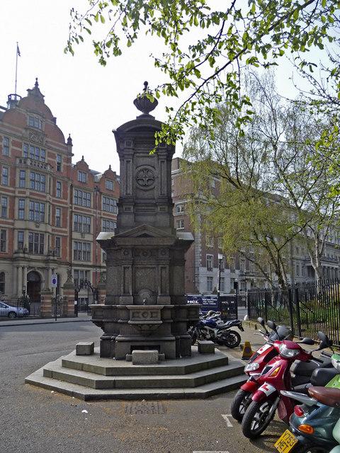 Drinking Fountain Lincolns Inn Fields London WC1