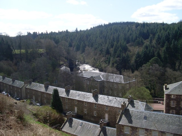 River Clyde and New Lanark