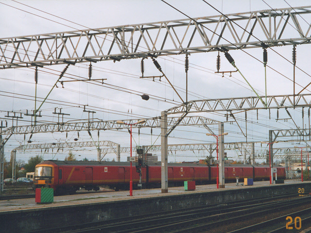 Parcels at Crewe