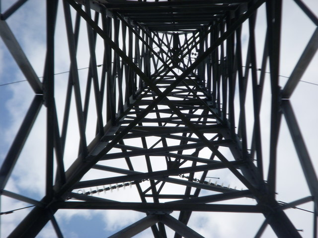 Close to a pylon