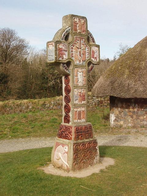 Celtic cross, Irish National Heritage Park
