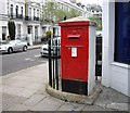TQ2678 : Victorian Post box by PAUL FARMER