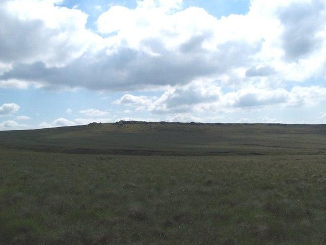 Dove Stones on Widdop Moor