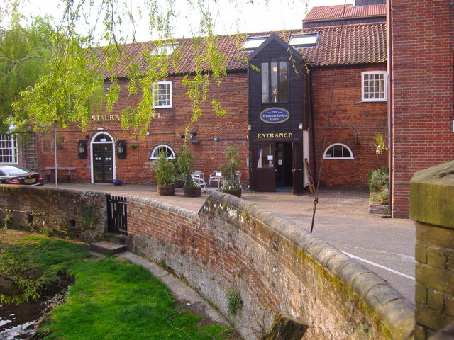 The Wensum Lodge Hotel and public house
