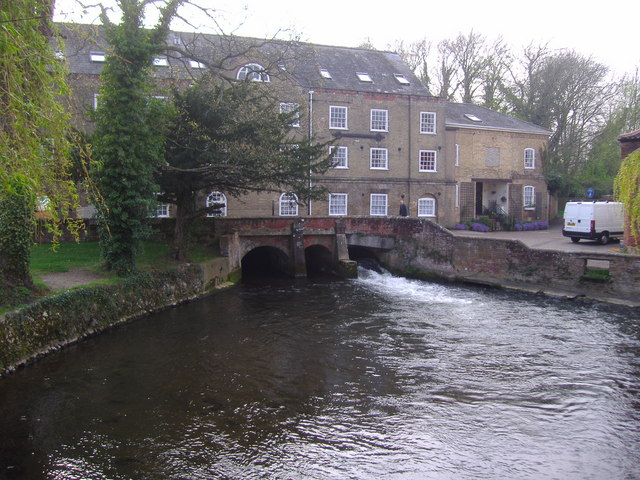Fakenham Watermill on the River Wensum