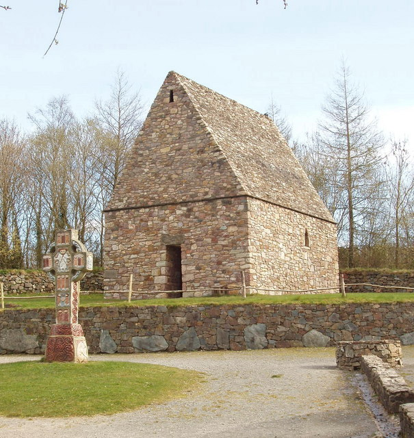 Early Christian chapel, Irish National Heritage Park