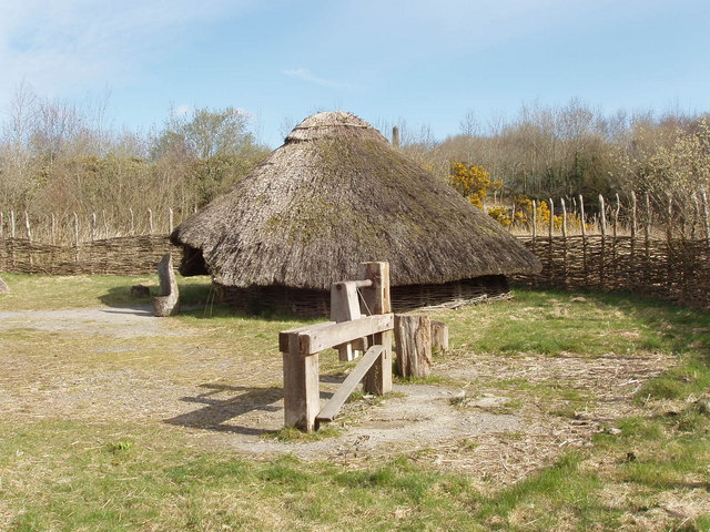 Crannog and wood-turning, Irish National Heritage Park