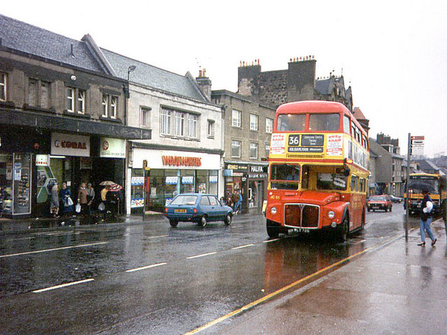 Johnstone High Street 169 David Roberts Geograph Britain