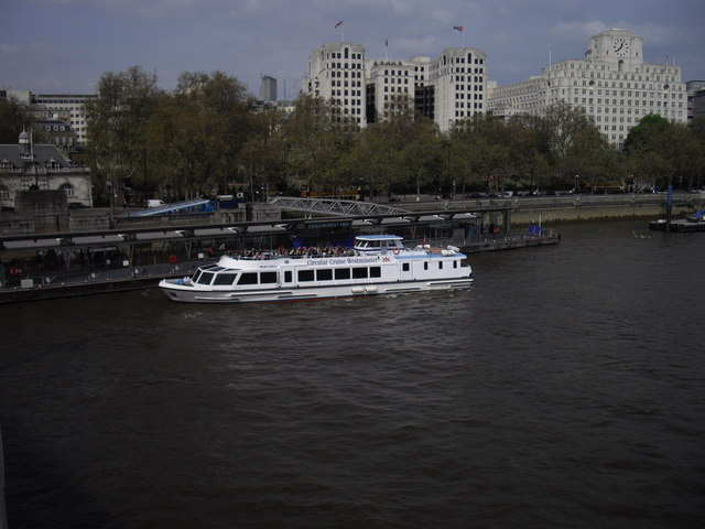 Pleasure Cruiser at Embankment Pier