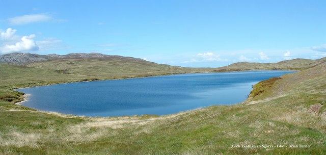 Loch Leathan an Sgorra - Islay