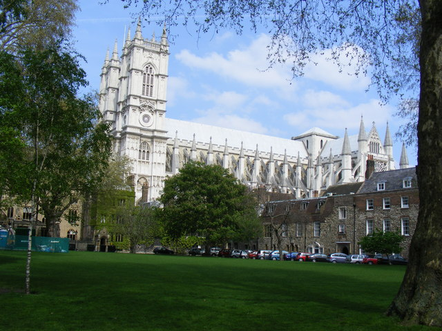Deans Yard and Westminster Abbey