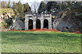 SX5155 : The Amphitheatre, Saltram House (1) by Andrew Hackney