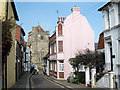 TQ8209 : Pink House on Hill Street by Oast House Archive
