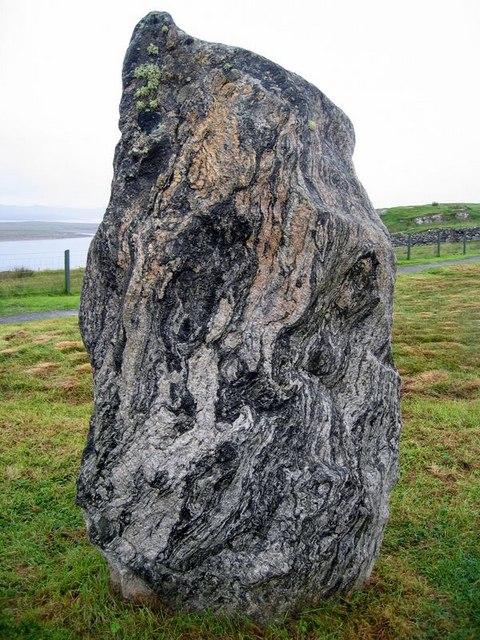 Stone portrait, Callanish