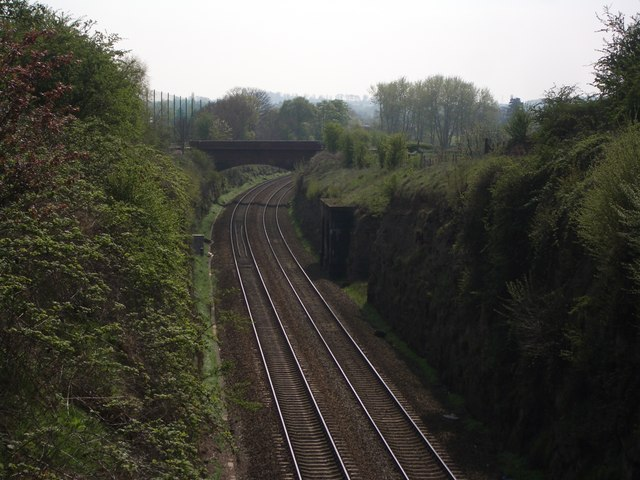 Elan Aqueduct crossing the railway