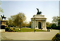 TQ2879 : Wellington Arch, Hyde Park Corner by Oast House Archive