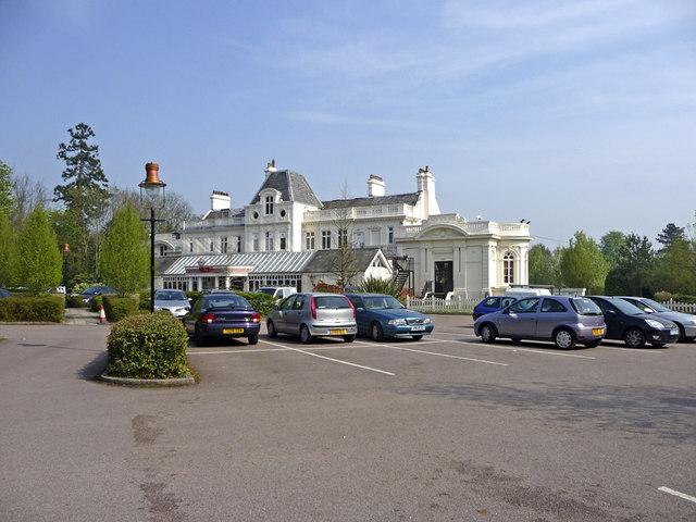 Whitewebbs Park Car Park