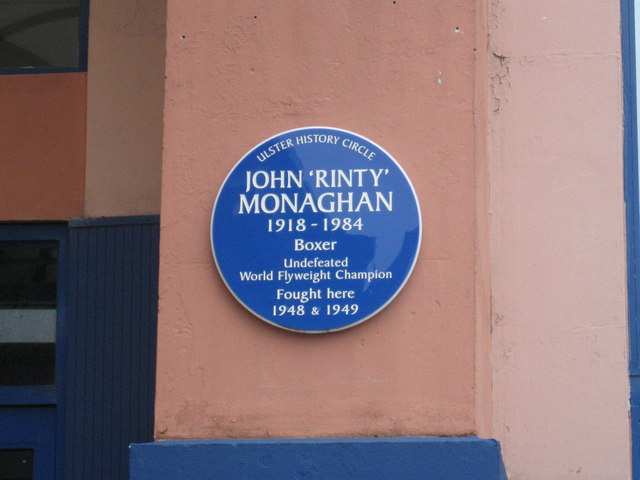 Blue Plaque on the King's Hall
