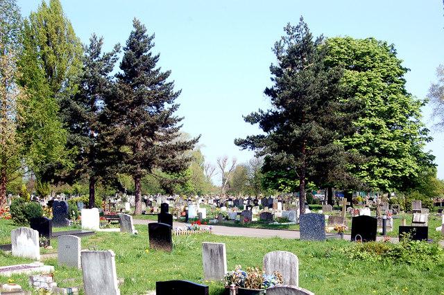 Greenford Park Cemetery, Greenford