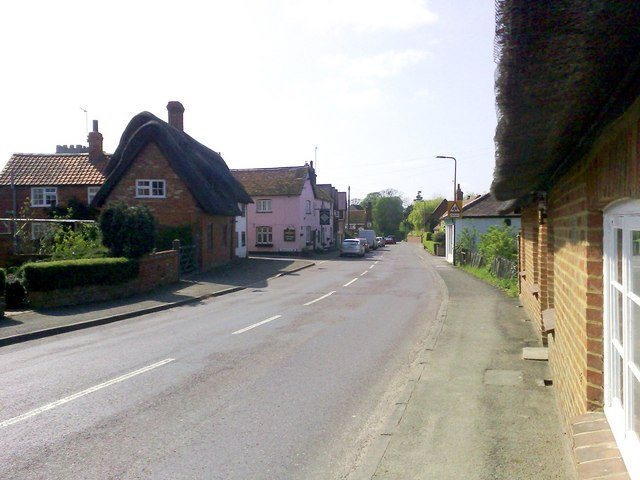 High Street, North Crawley