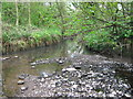 SP0479 : River Rea With Small Brook Joining From Right by Roy Hughes