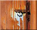 SN8292 : Rusty door bolt by Dave Croker