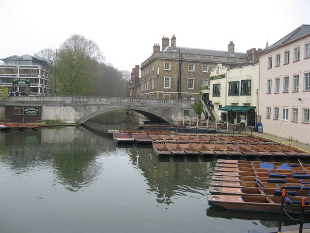 Silver Street Bridge, Cambridge
