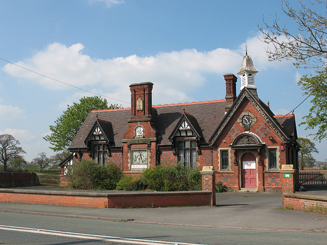 Former village school, Crewe Green