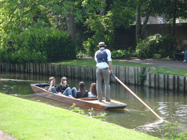 Punting, Great Stour, Canterbury