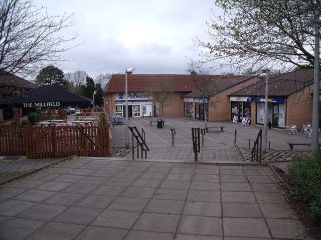 Small shopping  centre