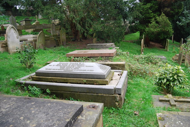 Edward Hoare's Grave, Woodbury Park Rd