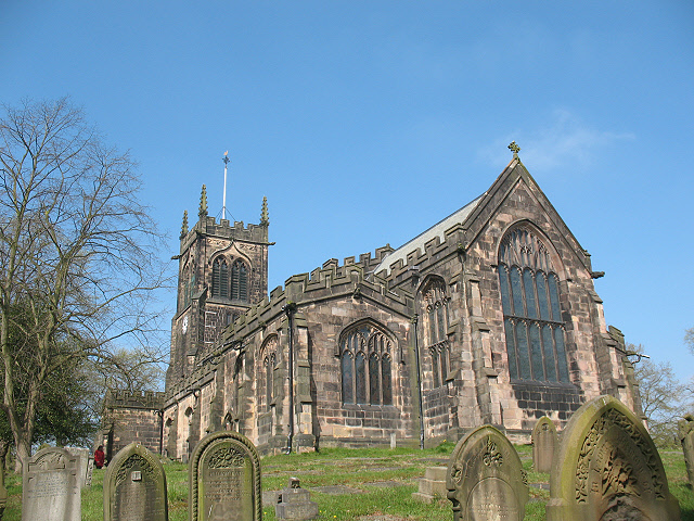 East end of St Mary's parish church, Sandbach