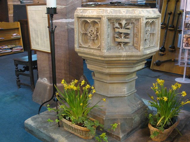 Font of St Mary's Sandbach
