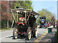 SJ7561 : Sandbach transport parade (1) - traction engines by Stephen Craven