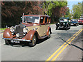 SJ7561 : Sandbach transport parade (3) - vintage cars by Stephen Craven
