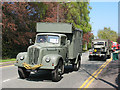SJ7561 : Sandbach transport parade (4) - Army trucks by Stephen Craven