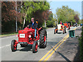 SJ7561 : Sandbach transport parade (6) - tractors by Stephen Craven