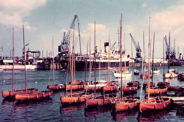 Weymouth Quayside 1956