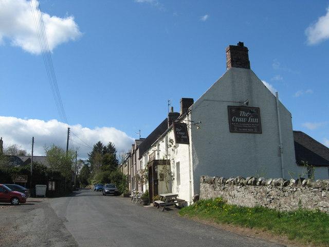 Historic Craw Inn at Auchencrow