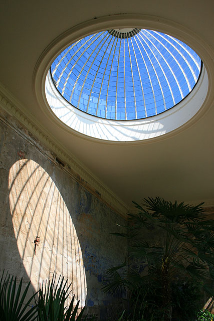 Inside the Orangery