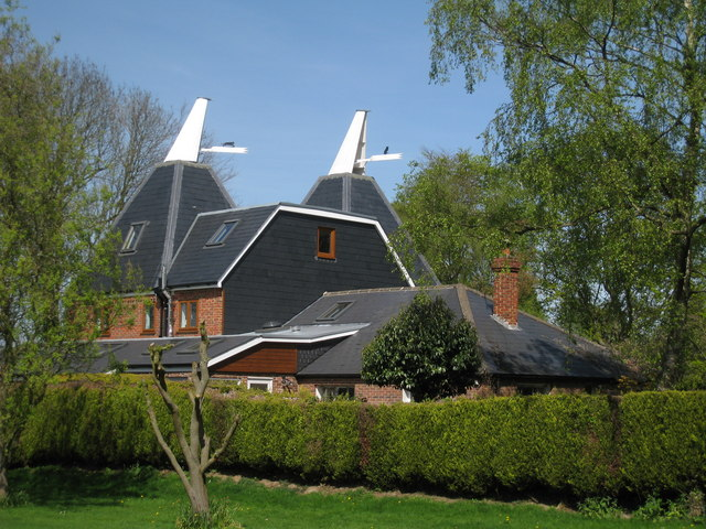 Oast House at Stilestone, Long Mill Lane, Crouch Borough Green, Kent