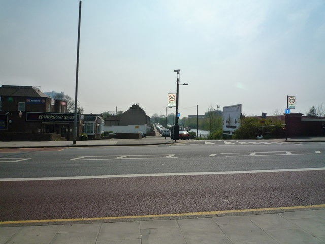 The Hambrough Tavern and Bankside, off the Uxbridge Road, Southall