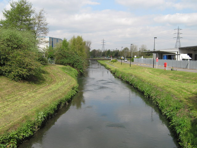 River Tame From Holford Way Bridge, Witton