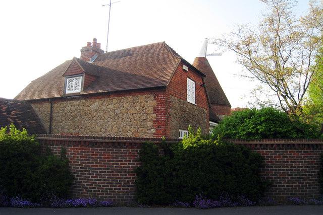 Oast House on Park Lane, Kemsing, Kent