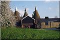 TQ5664 : Maplescombe Oast, Maplescombe Lane, Farningham, Kent by Oast House Archive