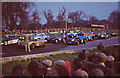 SJ5964 : Oulton Park - marshalling the starting grid 1957 by Geoff Royle