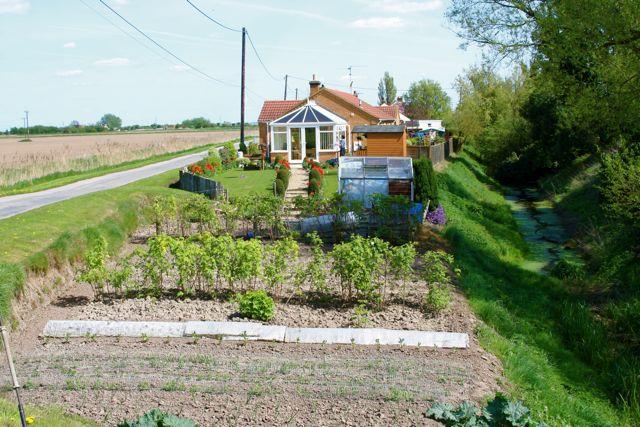 Cottage garden at Three Holes